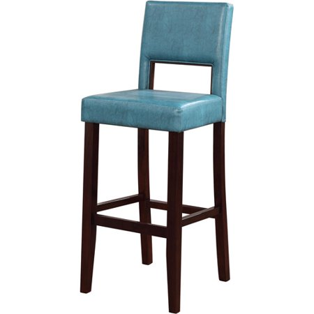 Linon Vega Bar Stool 30 Inch Seat Height Multiple Colors Walmartcom