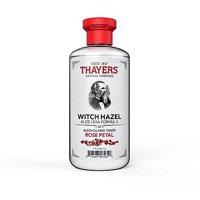 Thayers Witch Hazel Aloe Vera Toner, Rose Petal, 12 fl oz