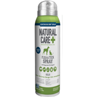 Natural Care Flea and Tick Spray for Dogs and Cats, 14 oz