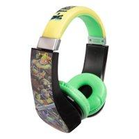 Sakar Kids 30365 Teenage Mutant Ninja Turtles Kids Friendly Headphone