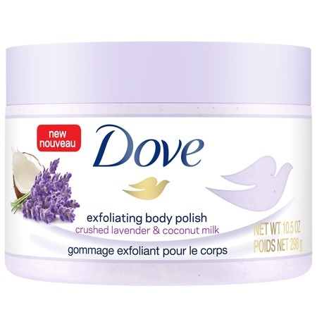 Green Apple Body Scrub (Dove Exfoliating Body Scrub Crushed Lavender & Coconut Milk 10.5 oz )