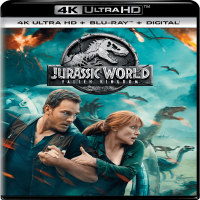 Jurassic World: Fallen Kingdom (4K Ultra HD + Blu-ray + Digital HD)
