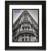 3a6310a40143 Better Homes and Gardens Beveled Black 14x18 Matted to 11x14 Frame