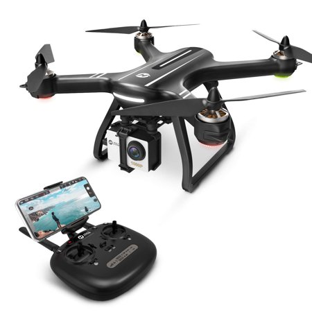 Holy Stone HS700 FPV Drone 1080p HD Camera Live Video GPS Return Home, RC Quadcopter Adults Beginners Brushless Motor, Follow Me, 5G WiFi Transmission, Compatible GoPro