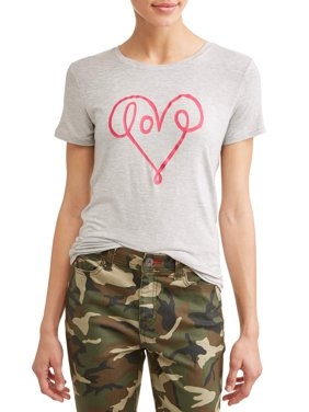 Love Scribble Short Sleeve Graphic Tee Women's
