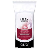 Olay Regenerist Micro-Exfoliating Wet Cleansing Face Wipes, 30 Count