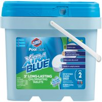 "Clorox Pool&Spa XtraBlue 3"" Long-Lasting Chlorinating Tablets, 5 lbs"