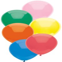 """Way to Celebrate Latex Balloons 12"""" Assorted Color, 72 Count Bag"""