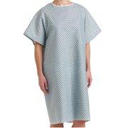 8736ea116f Deluxe Patient Hospital Gown