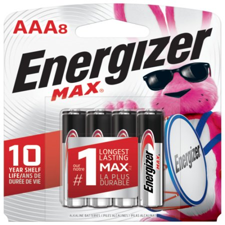 Energizer Max Alkaline AAA Batteries 8-Pack