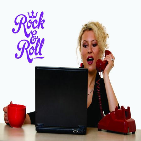 New Wall Ideas Rock & Roll 12x18 Inches](Rock And Roll Centerpiece Ideas)