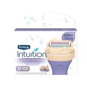 Schick Intuition Pure Nourishment With Coconut Milk And Almond Oil Women's Razor Blade Refills - 3 Count