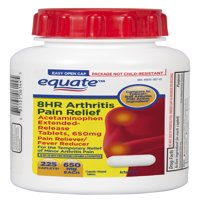 Equate Arthritis Pain Relief Extended Release Caplets, 650 mg, 225 Count