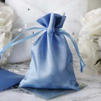 """Efavormart 60PCS Satin Gift Bag Drawstring Pouch for Wedding Party Favor Jewelry Candy Solid Satin Bags - 4""""x 6"""""""