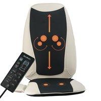 Belmint Massaging Seat Cushion with Shiatsu Deep Kneading, Vibrating, Rolling & Heat - Equipped with 6 Customizable Massaging Programs