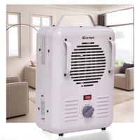 Costway Electric Portable Utility Space Heater Thermostat Room 1500W Air Heating Wall