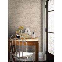 RoomMates Grasscloth Peel and Stick Wall Décor Wallpaper
