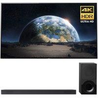 Sony 77-Inch 4K Ultra HD Smart BRAVIA OLED TV 2017 Model (XBR77A1E) with Sony 2.1ch Soundbar with Dolby Atmos