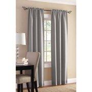 Mainstays Sailcloth Rod Pocket Curtain Panel, Set of 2