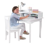KidKraft Avalon Kids Desk with Hutch and Chair, Multiple Colors