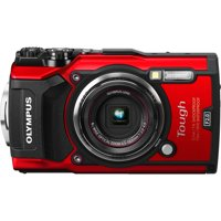 Olympus Tough TG-5 Compact Camera - Red