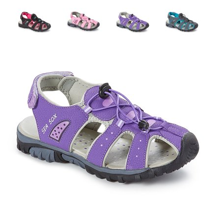 - Ladies Womens Waterproof Hiking Sport Closed Toe Athletic Sandals