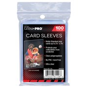 100 Soft Sleeves / Penny Sleeve for Baseball Cards & Other Sports Cards Ultra Clear