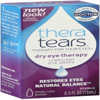 TheraTears Lubricant Eye Drops 0.50 oz (Pack of 2)