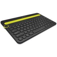Logitech K480 Wireless Multi-Device Keyboard, Bluetooth, Black