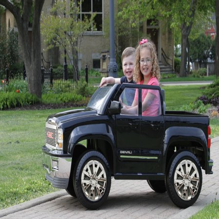 Rollplay GMC Sierra Denali 12 Volt Battery Ride-On Vehicle, (Gmc Denali Trucks)