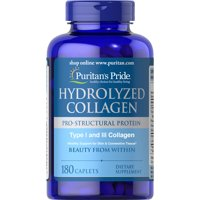 Puritans Pride Hydrolyzed Collagen 1000 mg180 Caplets