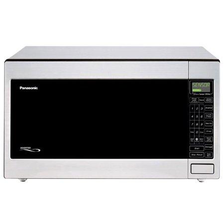 Panasonic 2 2 Cu Ft 1250 Watt Microwave Oven Stainless Steel