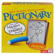 Pictionary Quick-Draw Guessing Game with Adult and Junior Clues