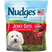 Nudges Steak Jerky Dog Treats, 18 oz.