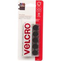 VELCRO® Brand Sticky Back 5/8in Circles, Black - 20 ct.