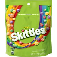 (3 Pack) Skittles, Sour Chewy Candy, 7.2 Oz