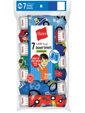 Hanes Toddler Boys' Boxer Briefs - 7 Pack