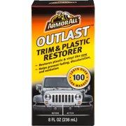 Armor All Outlast Trim & Plastic Restorer, 8 oz, Car Care