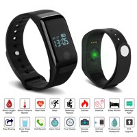 Fixm IP67 Waterproof Fitness Tracker Smart Wristband Heart Rate Blood Pressure Oximeter Blood Oxygen Sleep Monitor