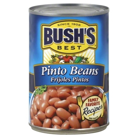 (3 pack) Bushs Best Pinto Beans, 16 oz