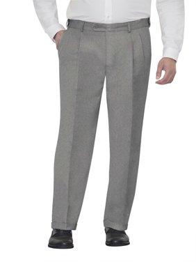 George Men's Microfiber Pleated Dress Pants