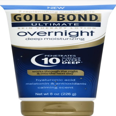 GOLD BOND® Ultimate Overnight Deep Moisturizing Lotion