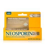 Best Antibiotic Ointments - Neosporin + Pain, Itch, Scar Antibiotic Ointment, 1 Review