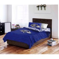 NFL Baltimore Ravens Bed in a Bag Complete Bedding Set