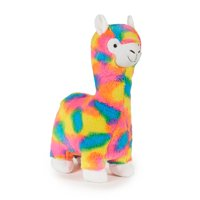 Way To Celebrate Valentine's Day Extra Large Plush, Rainbow Llama