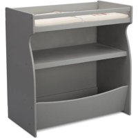 Delta Children Gateway 2-in-1 Changing Table and Storage Unit, Gray
