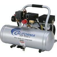 California Air Tools CAT-2010A 1.0HP 2 Gallon Ultra Quiet Aluminum Tank Air Compressor