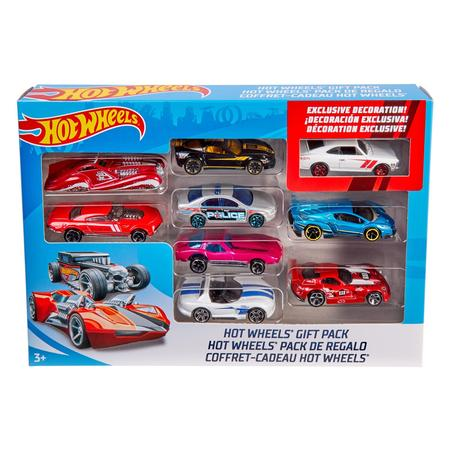 Hot Toys Seal (Hot Wheels 9-Car Collector Gift Pack (Styles May Vary) )