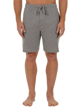 Men's Big and Tall Solid Knit Sleep Shorts