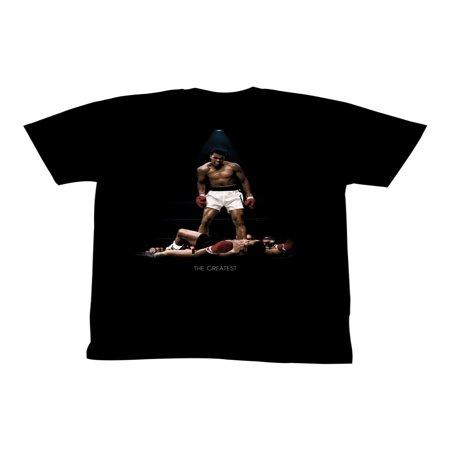 - Muhammad Ali Men's  All Over Again T-shirt Black